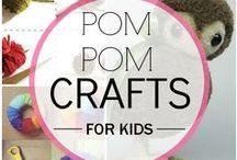 Parenting | Kid's Crafts / Some inspiration for you to get crafty with the kids!  Keep them entertained with simple low cost activities over the school holidays :)