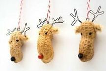 Christmas | Crafts / There's nothing lovelier than some hand made ornaments for your Christmas tree or hand crafted cards to give to loved ones
