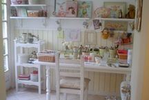 Craft Room Envy / I so badly want my own craft room :) / by Tallie Ehman