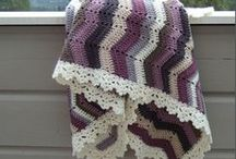 Crochet ♥ / I am so infatuated with crocheting!! Love the colors and patterns...Love afghans!  / by Tallie Ehman