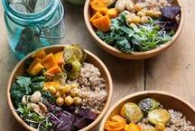 GF/DF Plant-Based Meals / Gluten-free and Dairy-free healthy dishes that are focused on veggies and fruits! These are all meals that are heavy on the plants.