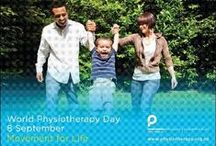 World Physiotherapy Day | September 8 / Movement for Life is the theme. We're born to move. 