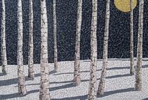 Mosaics / A paciencia e a arte de unir o pequeno para obter o belo.