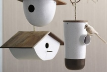 Birdhouses / Casinhas de passarinhos