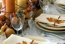Table decor / Mesas decoradas para ocasiões especiais