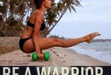 Work out  Warrior / Motivation to work out, lose weight and be awesome!
