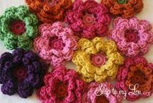 Crochet Flowers / by Tallie Ehman