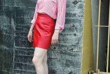 #pants & #skirts / #skirts #women #over40 #fashion #styles #pants #tartan #edgy