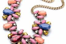 *JEWELRY* {Necklaces} / Collection of statement and boutique necklaces