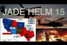 """Jade Helm / """"Joint Assistant for Development & Execution - Homeland Eradication of Local Militants"""" (That doesn't sound menacing to Freedom-Loving Americans, now does it?!?!) / by Jill Anderson"""