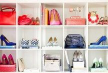 "Closet. / ""Some people dream of having a big swimming pool. With me, it's closets.""~Audrey Hepburn"