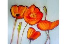 {Yupo Paper Paintings - Peintures sur papier yupo-pinturas sobre papel yupo} / Paintings on yupo paper by Sandrine Pelissier