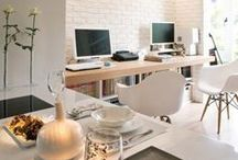 Decorate: Office Space / Decor inspiration for your home or at-work office!