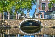 My photos - bridges / Bridges large and small, crossing canals, rivers, roads or fields, serving pedestrians, raliways, bicycles and car traffic