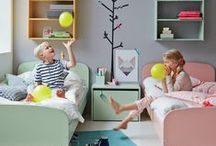 Bedrooms for Kiddos / Inspiring, playful, fun bedrooms for babies, toddlers and kids.