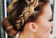 DIY - Hair up-do's and styles