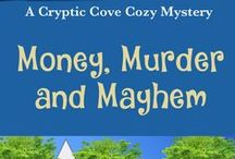 Cryptic Cove Cozy Mystery Series / Character models, locations, and other bits of inspiration for the fictional town of Cryptic Cove.