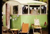 happy campers / love a beautiful caravan