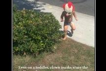 Horrifying and clowns