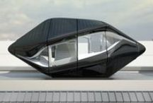 Minimalism .  Prefab, Pods, Abodes, A-Frames, Small Houses / Modern prefab dwellings and small houses / by Raphaël Delstanche