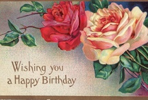Birthday/Best Wishes Cards - Victorian Style / by Elaine Gitzel