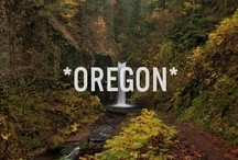 OREGONIAN / Who doesn't love the northwest? Oregon is a beautiful wonderland / by ♍ariposa εїз