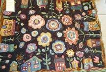Rug Hooking - Floral