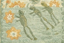 Rug Hooking - Fishies & Froggies & Such