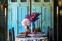Decor~Dining Room / Dining room inspiration both formal and casual.