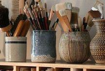 Art Studio / Ideas for my creative space