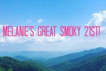 Melanie's Kick-Ash Great Smoky 21st!