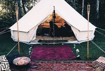 Bohemian Camping / Camping with style.