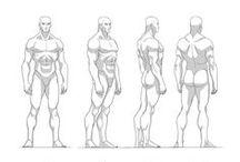 Comics Anatomy/Ideas