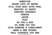 Health and Fitness / by Lindsey Renee