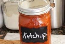 Sauces and Condiments / by Sarah Gillman
