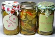 Preserved Food / How to can, freeze, dry, and pickle food items and their recipes / by Sarah Gillman