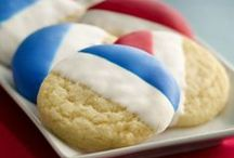 Red, White & Blue / USA! Patriotic treats, crafts and more! Holidays call for celebrations. / by Macaroni Kid