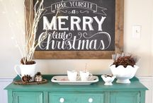 TIS THE SEASON! / HOLIDAY / SEASONAL DECOR / by Melinda {MommyMel.com}