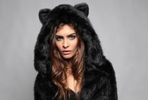 SH Museum / Faux fur animal inspired hoods. 10% of net profits are donated to endangered animals. Connect with us at 213.542.550 or help@spirithoods.com. Buy a hood, help an animal!