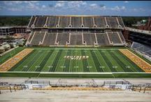 2013 Football Field Construction / by Southern Miss Athletics