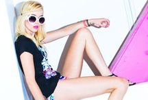 Vacay Electric  / Turn up and let loose in our high voltage spring break collection! / by A'GACI