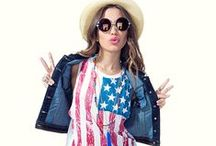 American Dream Girl / Classic styles to create the perfect all American girl next door look / by A'GACI