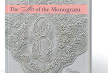 Gorgeous Monograms / Monograms can be found anywhere!