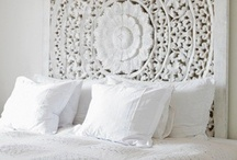 white and simple home / white home decor, white furniture, white details / by Want Her Style
