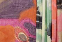Patterns. Fabrics. Wallpaper