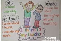 Anchor Teaching Charts / by Kathy Kuehl