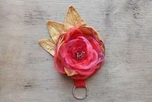 Fairytale Flower - Handmade Flower Accessories / Handmade flowers and flower accessories created by Fairytale Flower on etsy: http: http://www.etsy.com/shop/FairytaleFlower / by OnePerfectDay Accessories