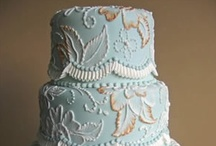 Cake- Painting/Brushing / hand painting, brush embroidery... it's all so personal / by pc brown