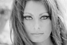 Sophia Loren  / Another timeless classic beauty / by Sandra Lenins