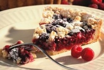 Food- Pies/Tarts / Pies and Tarts for dessert! / by pc brown